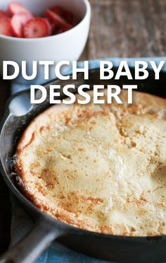 It's easy to get kids to help in the kitchen. Rachael Ray made a Dutch Baby Recipe with New York Times food columnist and cookbook author Melissa Clark. http://www.recapo.com/rachael-ray-show/rachael-ray-recipes/rachael-ray-melissa-clark-dutch-baby-recipe-german-pancake/