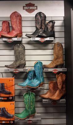 Harley-Davidson cowboy boots fall 2014