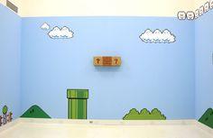 Super Mario Bros. Removable Wall Decorations, 41827 >>where to buy mario decor>>