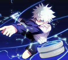 Hunter x Hunter Killua, Hisoka, Hunter X Hunter, Hunter Anime, Manga Anime, Anime Guys, Anime Art, Wallpaper Animes, Animes Wallpapers