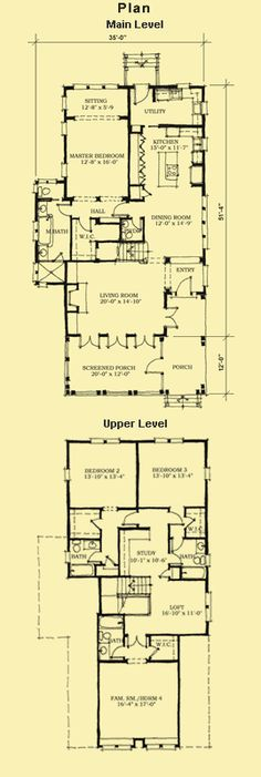 Doral house plan shotgun house plan house plans for Coastal home plans for narrow lots