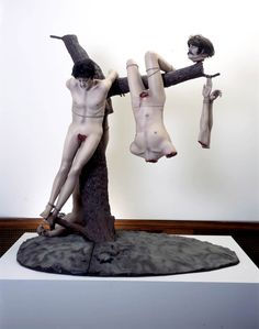Jake & Dinos Chapman Great Deeds Against the Dead 1994 Mixed media with plinth 277 x 244 x 152 cm