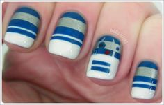 The Lighter Side of the Force: 24 Cute Star Wars Nail Designs   8 of 24