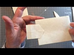 Self-locking letters. Pt 4 - YouTube Origami Letter, Origami Easy, Junk Journal, Bullet Journal, The Creator, Letters, All Video, Journals, Envelope
