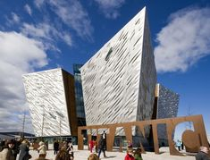 Titanic Belfast has been named Europe's number one visitor attraction, beating… Moving To Ireland, Ireland Travel, Ireland Vacation, Belfast Northern Ireland, Dublin Ireland, Titanic Museum, Paris Eiffel Tower, Family Adventure, Lonely Planet