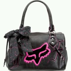 Fox racing duffle bag Have this too :) Backpack Purse, Purse Wallet, Fox Purse, Skull Purse, Fox Racing Clothing, Motocross Clothing, Fox Rider, Honda Powersports, Riding Gear