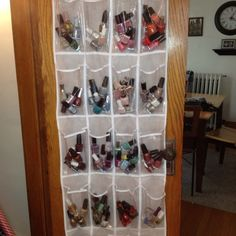 HOW TO: Declutter and organize your home with over the door shoe organizers