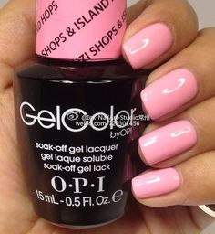 OPI Hawaii 2015 Suzi Shops & Inselhopfen Source by mckaymer Opi Gel Polish, Opi Gel Nails, Gel Nail Polish Colors, Soak Off Gel Nails, Get Nails, Love Nails, How To Do Nails, Pretty Nails, Sassy Nails