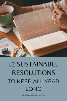 Have you made any resolutions this year? And what about sustainable resolutions? Going low waste, buying less and buying smarter, starting that composting bin, getting more plants or going flexitarian. There are hundreds of ways to make your life greener with way less effort than you might think. These are 12 eco-friendly resolutions or goals to keep all year long and every year after this one too! #sustainableliving | via @prettygreenlily Bullet Journal Diy, Sustainable Living, Sustainable Fashion, Green Living Tips, Traditional Ink, Perfect Planner, Circular Economy, Experience Gifts, Little Elephant