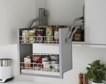 Standard 600mm <b>pull down shelf</b> | Kitchen storage solutions <b>...</b>