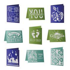 Cricut Simple Everyday Cards Cartridge