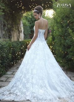 Luisa Sposa Mod. L 2134 Italian Wedding Dress Designer. (Love this dress)