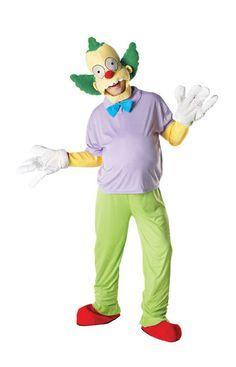The Simpsons Krusty der Clown Kostüm