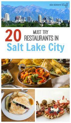 20 must try restaurants in Salt Lake City | Travel Salt Lake City | @sixsistersstuff