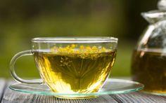 Chá gelado de erva doce com hortelã
