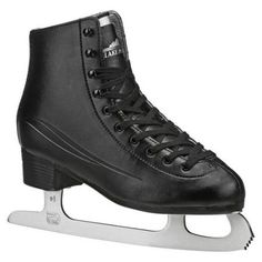 Lake Placid Cascade Men's Figure Ice Skates, Black