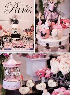 Pink Paris Birthday Party Planning Ideas Supplies Idea Chanel Cake - Chanel Paris - Ideas of Chanel Paris - pink a luscious book party ideas Chanel Party, Chanel Cake, Coco Chanel, Pink Paris, Thema Paris, Paris Baby Shower, Parisian Party, Paris Birthday Parties, Festa Party