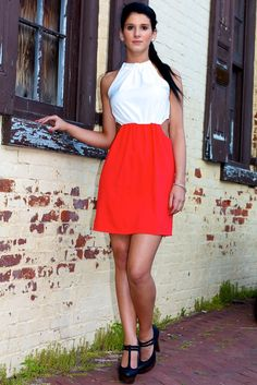Sleeveless  Dress with Cutout Detail #May23Online $34
