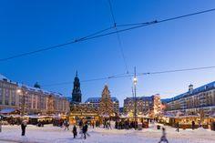 *Dresdner Striezelmarkt* in Dresden (Germany).