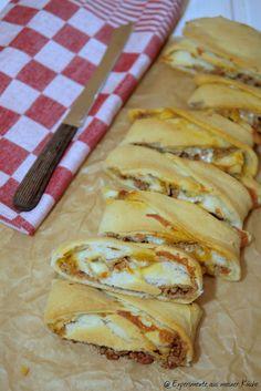 Experimente aus meiner Küche: Bolognese-Stromboli