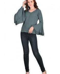 5375769de4e97 Western Tops For Women-Legitkart · Stylish Rayon Top