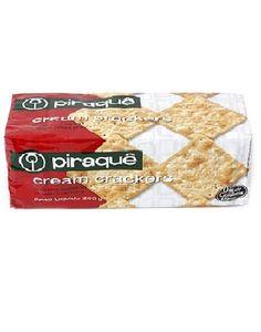 Biscoito Cream Crackers Piraquê pct. 200G — Minha Mercearia em Casa
