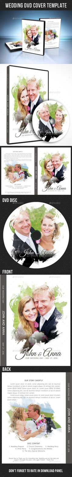 Wedding elegant dvd case cover template cd cover design and cd wedding dvd cover template 16 pronofoot35fo Choice Image