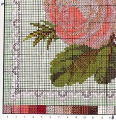Gallery.ru / Фото #85 - Bradley Elizabeth. Needlework Antique flowers (2008) - Verenoza
