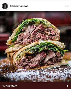 #repost #TimeOut #Smokoloko | London . UK | 13 April 2018 | So far the best sandwich in LDN!!  Erica Dezonne for Smokoloko