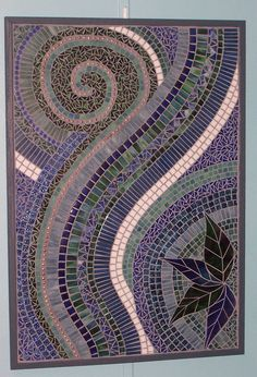 Image detail for -AWESOME STAINED GLASS MOSAIC WALL ART by LowBridgeArtworks on Etsy