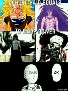 Lol, i don't think one punch man think so