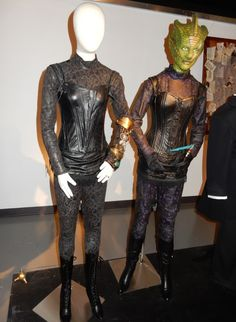 Doctor Who Jenny Flint and Madame Vastra costumes