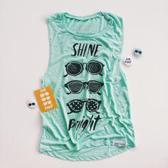 Summer tank!!! Shine bright!