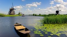 Moving from Japan to Netherlands (Holland) with Japan Luggage Express. Utrecht, Amsterdam, Visit South Africa, Holland Netherlands, Canal Boat, Travel Tours, Le Moulin, Landscape Photos, Countryside