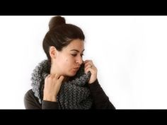 Tricot / Coudre le snood Sorlin - YouTube