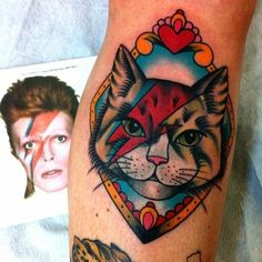 Ziggy really sang, screwed up eyes and screwed down hairdo  Like some cat from Japan - - Bowie inspired Ink