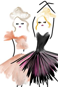 party dress sketches #fashionillustration #bybc