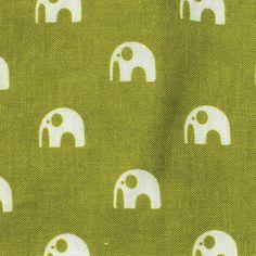 Oasis Elephants in Olive