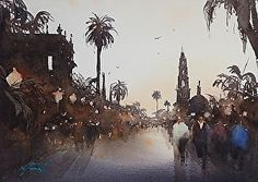Excellent watercolor tips and process from top watercolourists i.e. Joseph Zbukvic
