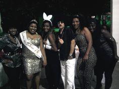 Família da Tuti, sua filhas, suas irmãs e cunhado-Festa-abril/2012-15 anos da Thaís...