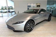 Pictures: James Bond's custom-built Aston Martin showcased in Cheltenham ahead of Spectre release