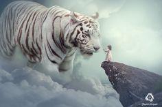 #manipulation #photoshop #art #bigtiger #whitetiger #manipulationeffect