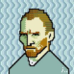 ((( TRETA ))) › Obras de arte famosas refeitas com pixels