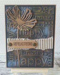 #birthdaycard #verjaardagskaart #nuvomousse #embossing #kaartenmakenhobby #kaartenmaken #diycards #diycard #cardmakinghobby #handmade…