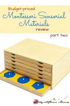Montessori Materials Review: Sensorial Part Two ⋆ Study at Home Mama