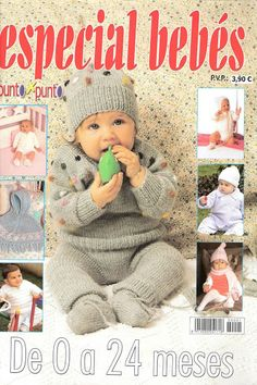 OK bebe multe Knitting Books, Crochet Books, Knitting For Kids, Crochet For Kids, Baby Knitting Patterns, Kids Patterns, Knitting Designs, Knitting Magazine, Crochet Magazine