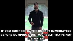 Chris Evans Teaches Us How To Properly Do The Ice Bucket Challenge [[Can I just marry him now, thanks.]]