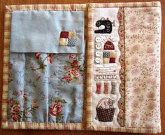 Time to Stitch: Anni Downs Anni Downs, Christmas Cushions, Needle Book, Needle Case, Felt Decorations, Small Quilts, Mini Quilts, Christmas Bags, Sewing Accessories