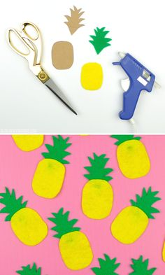 DIY Pineapple Garlan