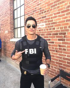 Daniel Henney suits up. - Criminal Minds - CBS.com